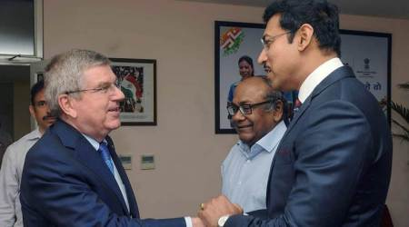 Rajyavardhan Rathore meets IOC president Thomas Bach, promises clean sports in India
