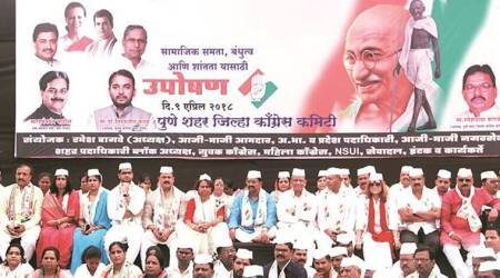 Congress organises fast, NCP rally on Tuesday and BJP agitation plan on April 12