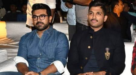 Ram Charan at Naa Peru Surya Naa Illu India event: My dad used to tell me to learn how to dance by watching Allu Arjun