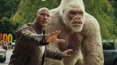 Rampage movie review: Dwayne Johnson fails to save this monster film