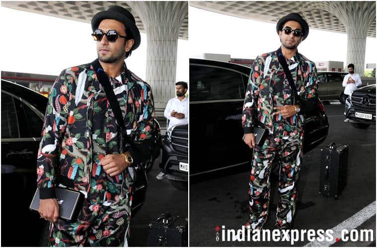 airport fashion, airport style, Ranveer Singh, Sonam Kapoor, Jacqueline Fernandez, Yami Gautam, Aditi Rao Hydari, celeb fashion, bollywood fashion, indian express, indian express news
