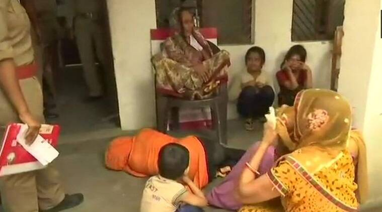 The family alleged that the woman was raped by BJP MLA from Unnao, Kuldeep Singh Sengar and his accomplices last year. (Photo: Twitter/ANI)