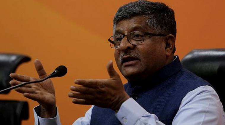 India's global prestige increased under Modi government: Ravi Shankar Prasad