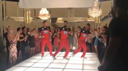 IPL 2018: Virat Kohli, Yuzvendra Chahal, Brendon McCullum 'warm up' with crazy dance moves