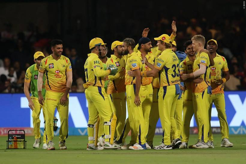 Ipl 2018 Ms Dhoni Adds Finishing Touch To Csks Stunning Run Chase
