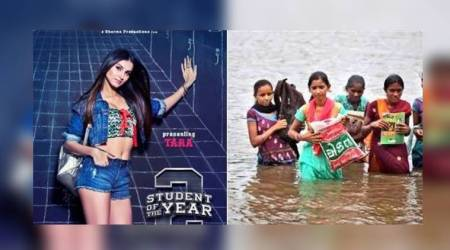 SOTY 2: Twitterati show Karan Johar a glimpse of REAL Students of the Year!