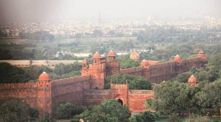 Amid some politics, Red Fort is 'adopted' by acompany