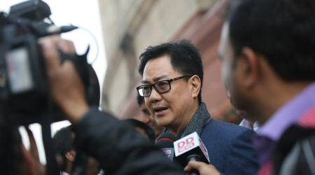 CJI Dipak Misra impeachment: Kiren Rijiju targets Congress, says it doesn't trust India and its institutions
