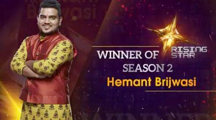 rising star 2 winner hemant brijwasi
