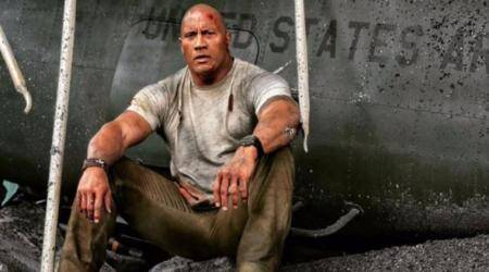 Dwayne Johnson's Rampage roars at the US box office with 114.1 million dollars