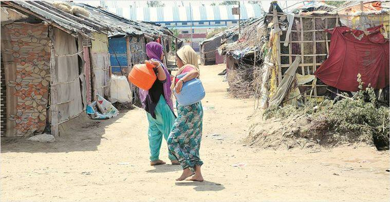 rohingya refugee camps, rohingya muslims in delhi, rohingya delhi camps, rohingya camps in delhi, rohingya supreme court order, rohingya muslims unlivable conditions