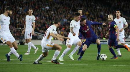 Roma seeks a 'miracle' against Barcelona armada in Champions League