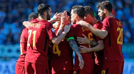 Before Champions League semi-final, Roma beat Spal 3-0