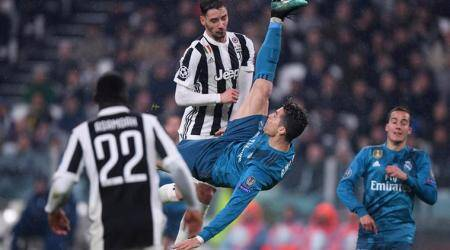 Science of the bicycle kick: Dissecting Cristiano Ronaldo's perfectstrike