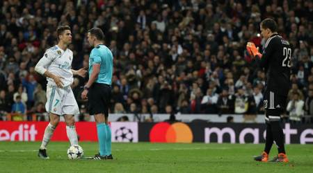 Cristiano Ronaldo's controversial late penalty mars Real Madrid win over Juventus; watch video