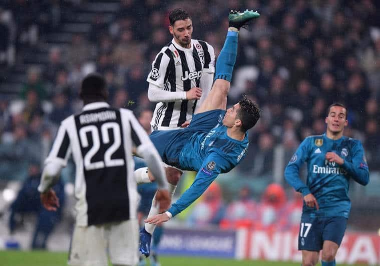 Cristiano Ronaldo's Stunning Bicycle Kick Goal Draws