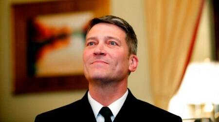 White House doctor Ronny Jackson withdraws from VAnomination