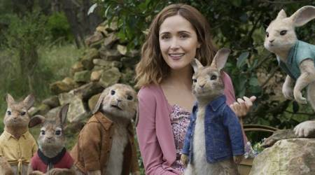 I have magical memories associated with Peter Rabbit: Rose Byrne