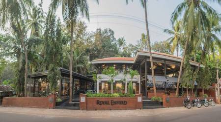 Royal Enfield's Garage Cafe in Goa is where you'll find your kindredspirits