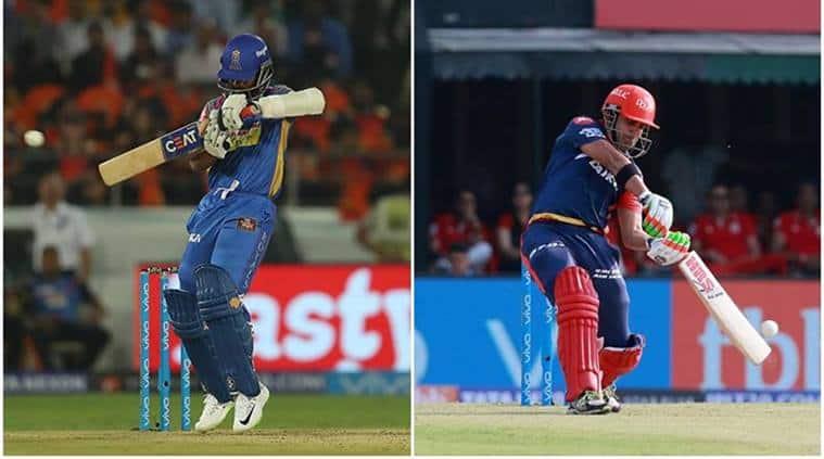 After 17 overs Delhi Daredevils completes ..