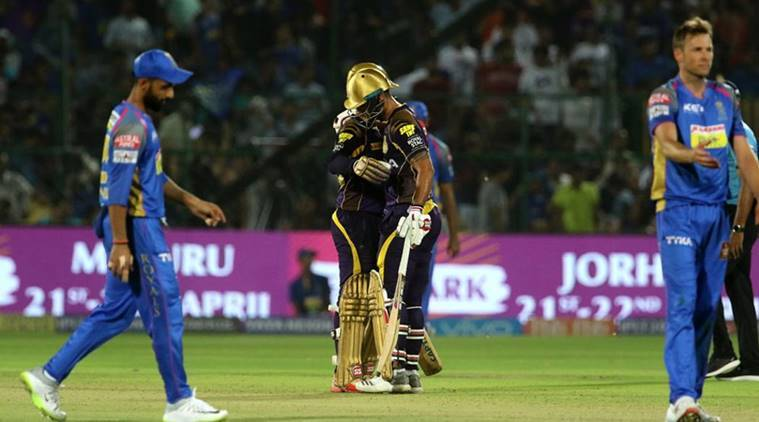 KKR have not lost a match against RR in Kolkata since IPL 2008. (photo source - IANS)