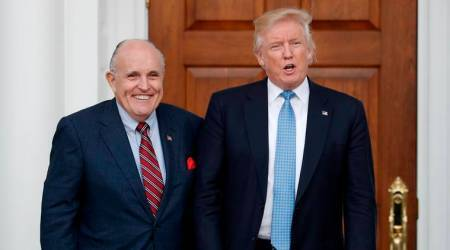 Former New York Mayor Rudy Giuliani joins Donald Trump legal team
