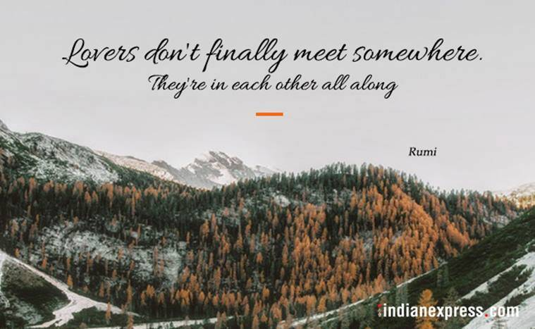 rumi quotes, quotes by rumi, love quotes, inspirational quotes, quotes by rumi, indian express, indian express news