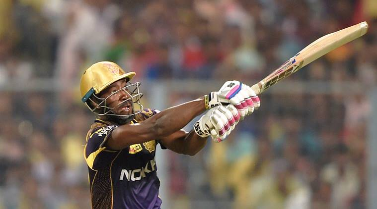 Andre Russell swept the Delhi Daredevils attack aside