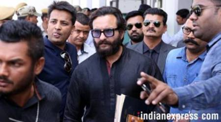Video: Annoyed with questions on blackbuck poaching case, Saif Ali Khan tells driver 'Sheehsa upar karo warna padegi ek'