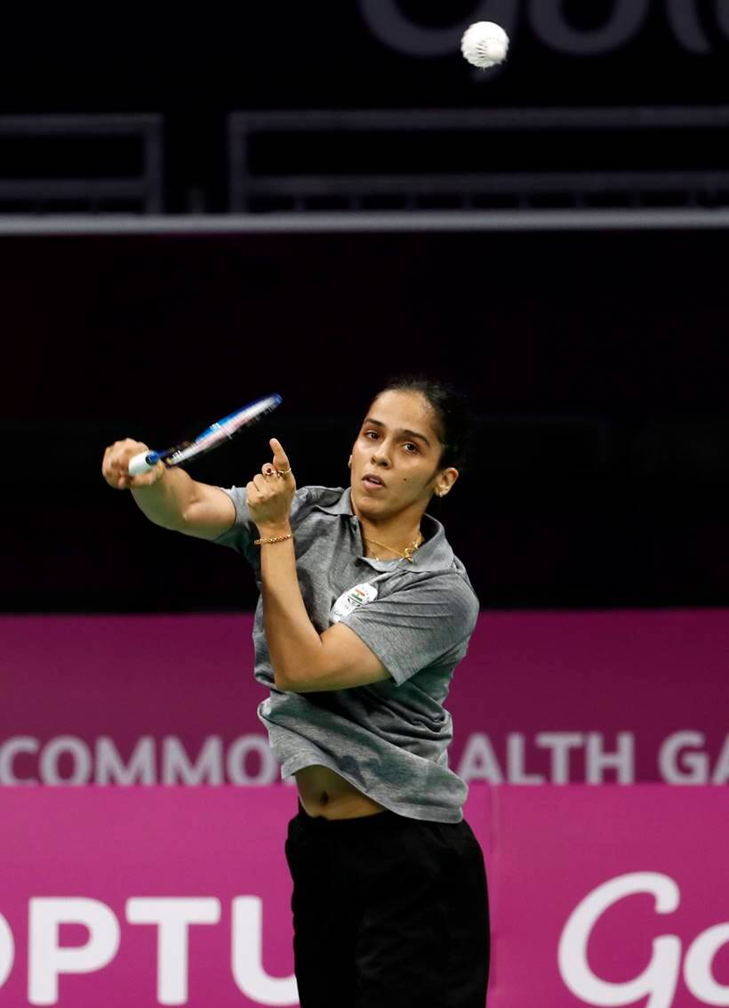 Saina Nehwal looked in good touch.