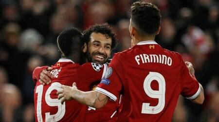 Liverpool beat Roma 5-2 in first leg of Champions League semi-final: As it happened