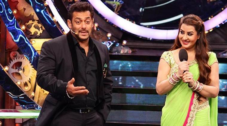 salman khan gets support from shilpa shinde, vikas gupta
