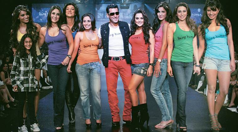 salman khan being human fashion show photos