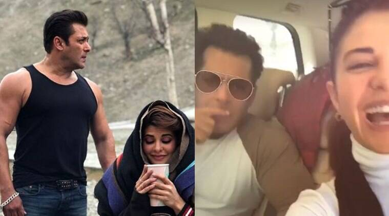 Race 3 Actors Salman Khan And Jacqueline Fernandez Take In The