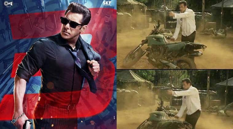 Race 3 Salman Khan Wields A Gun At Enemies In This Viral Clip