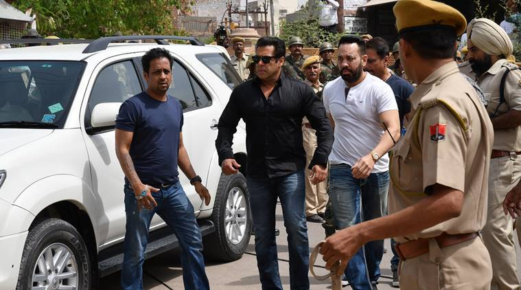Image result for image of salman khan after court order for jail