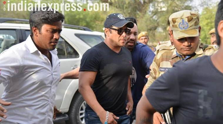 Salman Khan walks out on bail as court suspends sentence in blackbuck poaching case