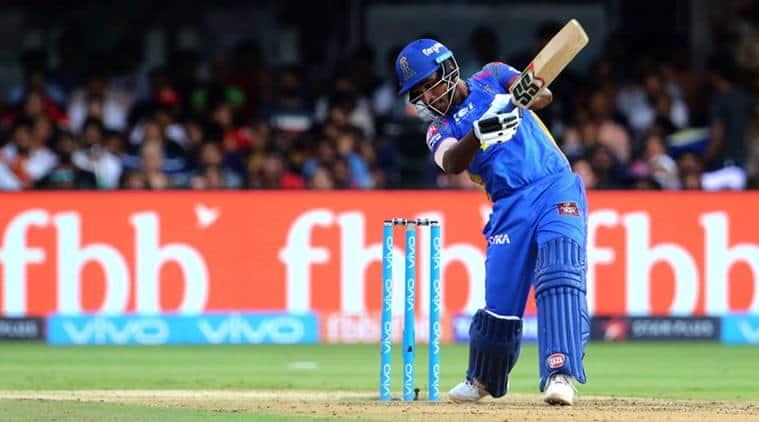 IPL 2018, Indian Premier League, RCB vs RR, Sanju Samson, Virat Kohli, sports news, cricket, IPL news, Indian Express