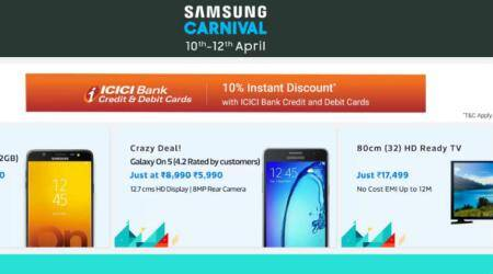 Samsung Carnival on Flipkart: Discounts on Galaxy On Nxt, On Max, On5 and more mobiles