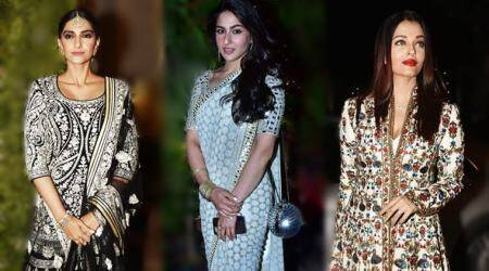 Sara Ali Khan, Sonam Kapoor and Bachchans turn heads at Saudamini Mattu's wedding reception, see photos, videos