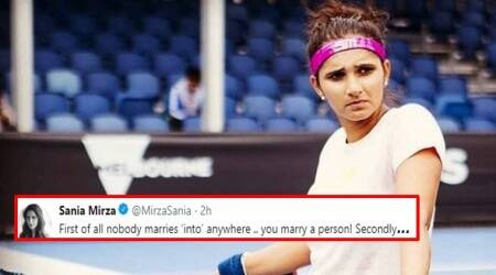 Sania Mirza's fitting reply to man questioning her nationality wins the Internet