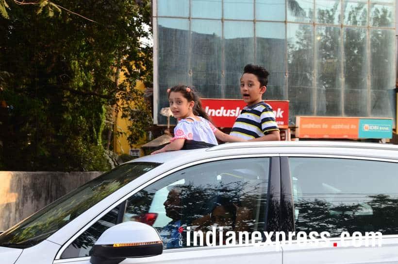 Sanjay Dutt kids Shahraan and Iqra