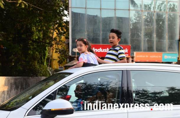 Sanjay Dutt kids Shahraan and Iqra