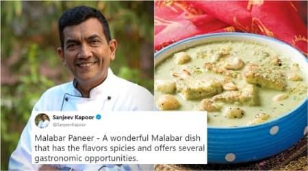 sanjeev kapoor, sanjeev kapoor twitter, sanjeev kapoor recipes, sanjeev kapoor malabar paneer, sanjeev kapoor malabar paneer masala, sanjeev kapoor trolled, Indian express, Indian express news