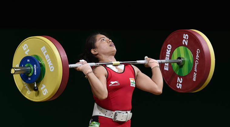 Commonwealth Games, Commonwealth Games 2018, CWG 2018, Sanjita Chanu, Sanjita Chanu medal, Sanjita Chanu gold medal, sports news, Indian Express