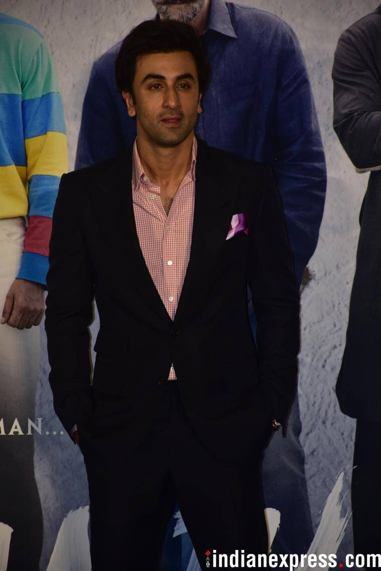 ranbir kapoor at sanju teaser launch