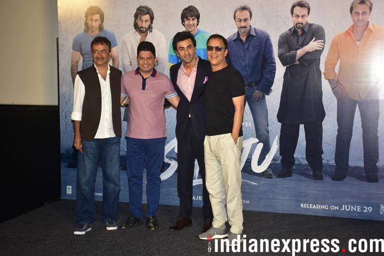Sanju teaser was launched in Mumbai