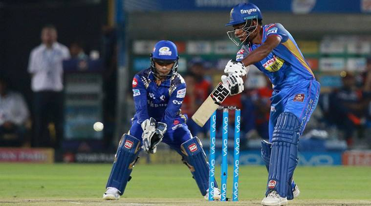 Sanju Samson, Sanju Samson batting, Sanju Samson IPL, Sanju Samson video, Sanju Samson india cricket, indian express