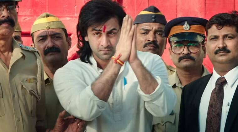 ranbir kapoor plays sanjay dutt in Sanju