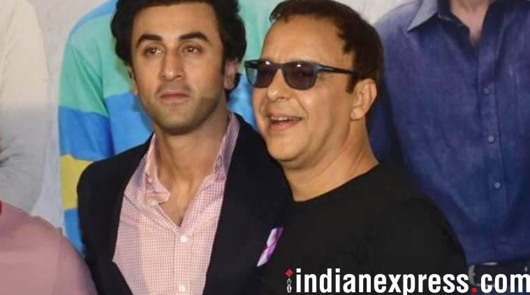 vidhu vinod chopra talked about ranbir kapoor at sanju teaser launch